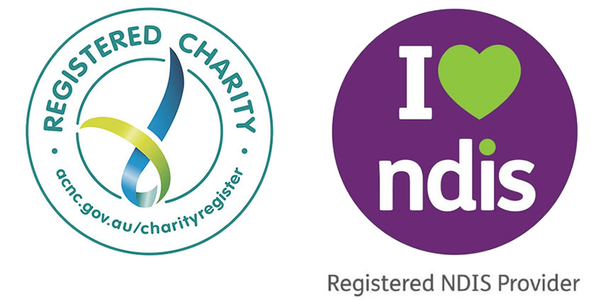 Registered Charity and Registered NDIS Provider